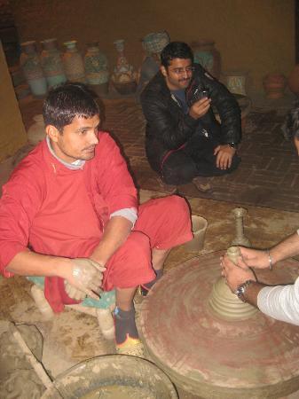 Rangla Punjab Haveli: crafts people