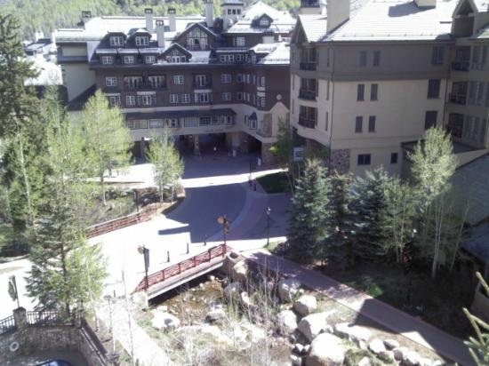 Beaver Creek Lodge: From our balcony