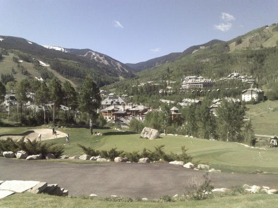 Beaver Creek Lodge: From the golf course
