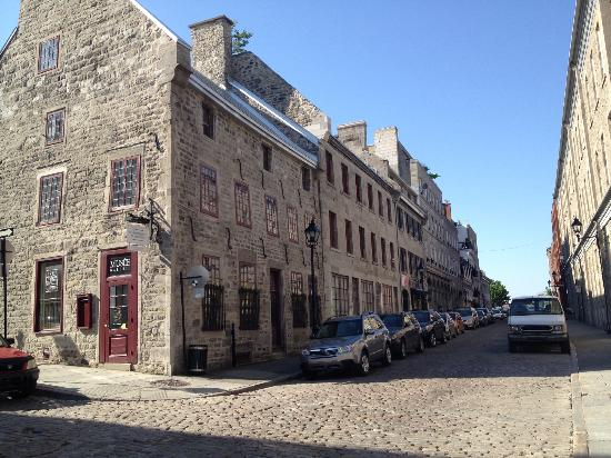 Old Montreal: 16th century building