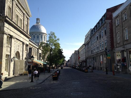 Old Montreal: side street