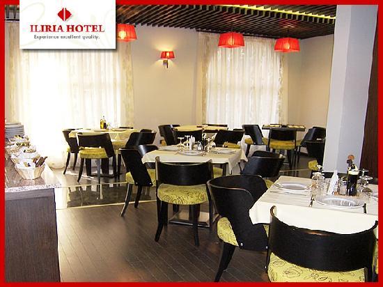Hotel Iliria: Restaurant