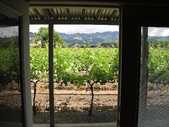 Chateau de Vie: view from carriage house