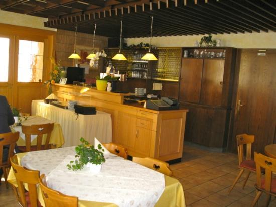 Restaurant Engel: view at the bar