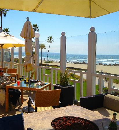 "Hotel del Coronado: ""Sun Deck Bar"" great for lunch even if you are not a hotel guest"