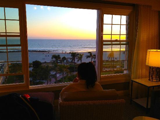Hotel del Coronado: Sunset