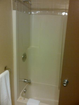 Confederation Place Hotel: Shower