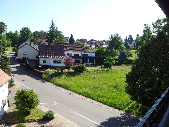 Hotel Restaurant Lamm: Blick vom Balkon