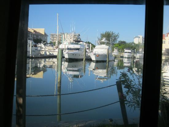 Changing Tides Cottages: The Marina from the cottage door