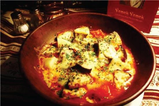 Yemek Yemek: The lamb guvec