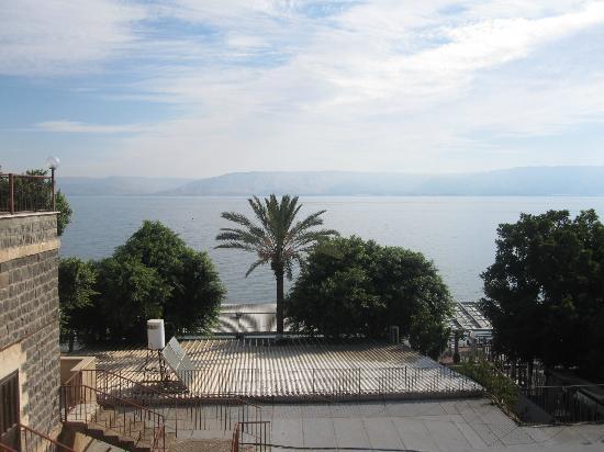 Casa Nova Pilgrim Guest House: View from terrace