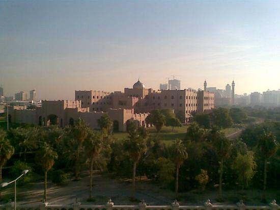 ‪‪Ramada Hotel Bahrain‬: Palace from window in the morning‬