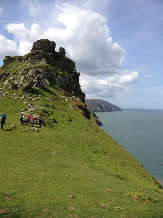 The Rising Sun Hotel: Valley of the Rocks