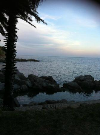 Bar Cala Banys : the view