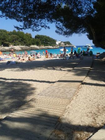 Apartamentos Cala d'Or Playa: Calaran beach again