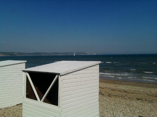 weymouth beach in day
