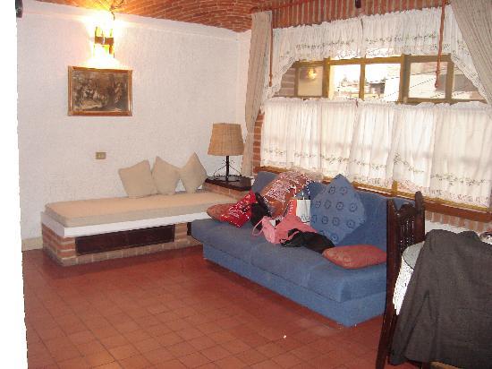 Hotel Suites Poza Real : Salita