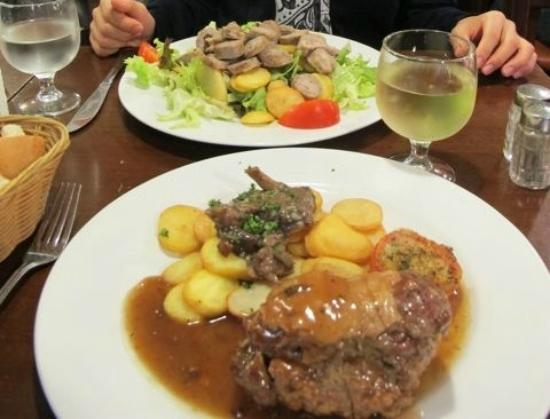 Aux Produits Du Sud Ouest: おいしい鴨肉料理
