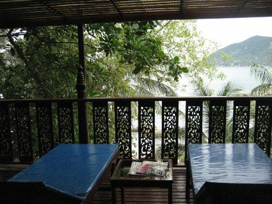 Charm Churee Villa: our balcony