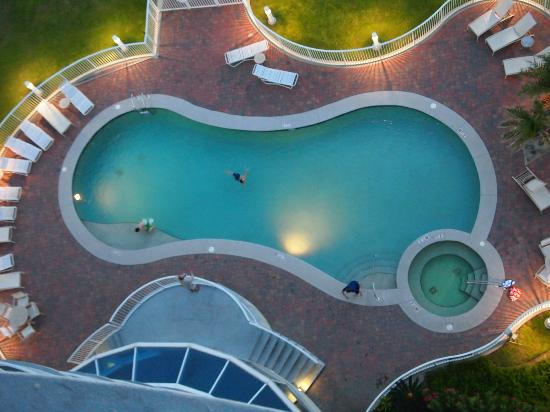 Bel Sole Condominiums: Outdoor pool & hot tub