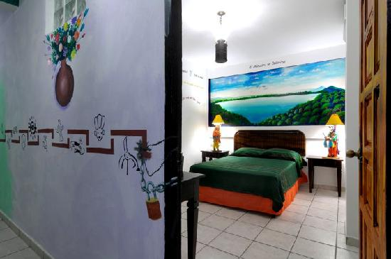 Hotel El Gueguense: room dedicated to the city of Masaya