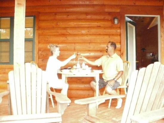 Cabin Fever Resort: First Dinner as Husband and Wife