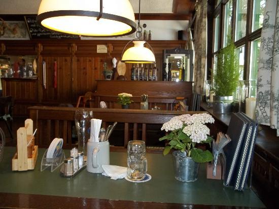 Weihenstephan : Inside the Restaurant