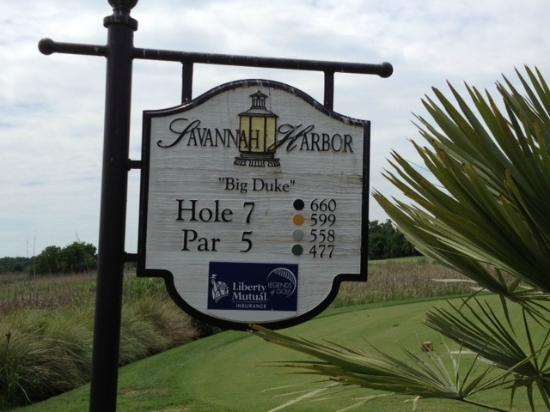"""The Club at Savannah Harbor: """"Big Duke"""" One monster Par 5"""