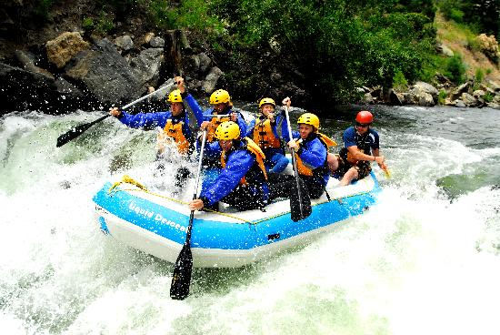 Liquid Descent Whitewater Rafting