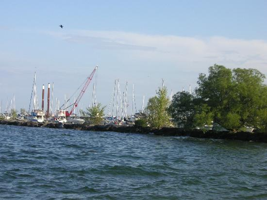 Mississauga, Canada: Yachts at the harbour
