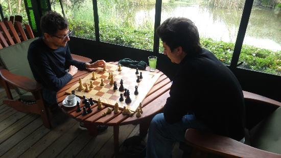 La Casa de los Limoneros: Una partida de ajedrez
