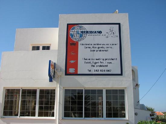 Restaurante-Bar Meridiano : Restaurante meridiano sagres( excelente arroz de marisco)