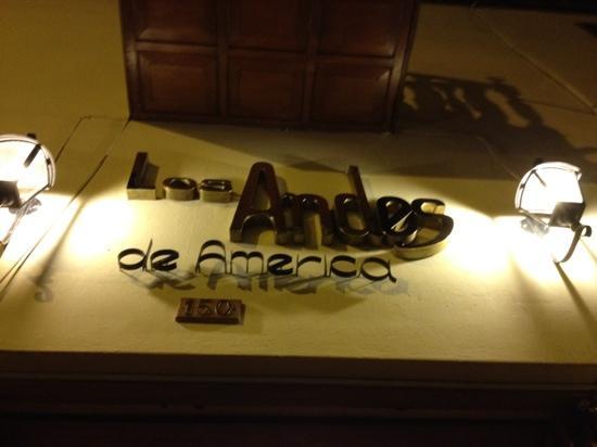 BEST WESTERN Los Andes De America: entrada