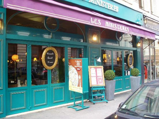 Les Ministères : Frontage on Rue de Bac