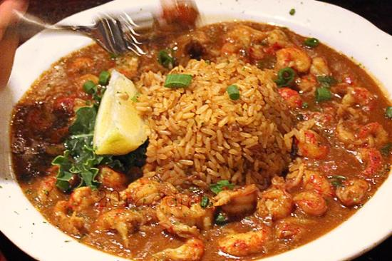 etouffee + dirty rice - Picture of Pappadeaux Seafood Kitchen, San ...