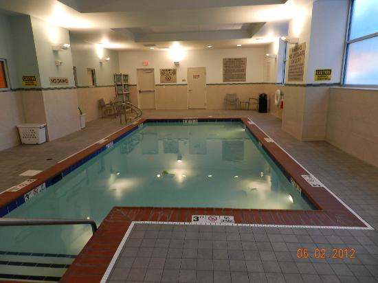 SpringHill Suites Indianapolis Downtown : Indoor Pool