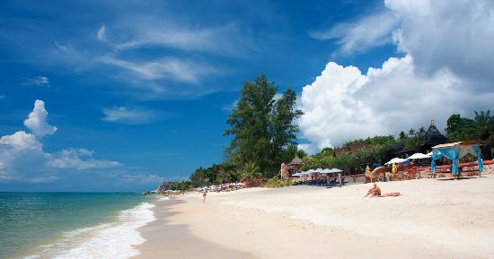 Ammatara Pura Pool Villa: Hotel Beach front