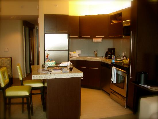 Bay Lake Tower at Disney's Contemporary Resort: In-suite kitchen