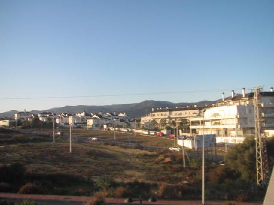 Montera Plaza Hotel: Vistas de la habitación. Carretera a Algeciras