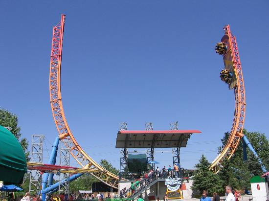 Half Pipe Picture Of Elitch Gardens Theme Park Denver