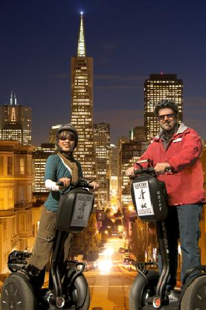 Electric Tour Company Segway Tours San Francisco All