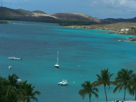 Benner, St. Thomas: Look at the color of the water!!