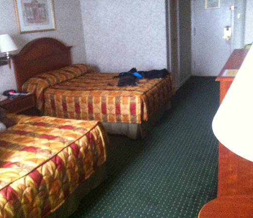 Travel Inn Hotel New York: Nice size, clean room w/double beds