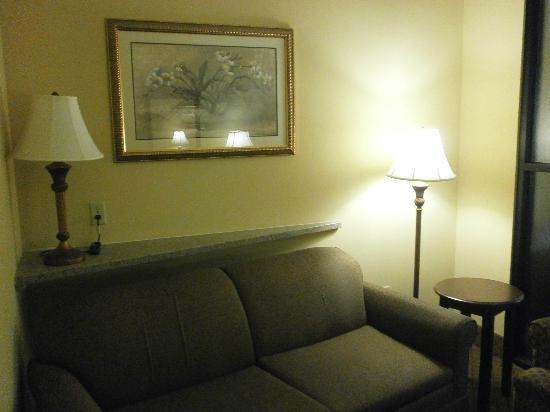 Comfort Suites: Suite Sitting Room