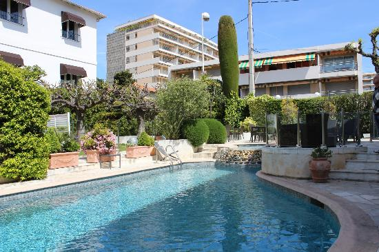 hotel pool picture of hotel la villa cannes croisette cannes tripadvisor. Black Bedroom Furniture Sets. Home Design Ideas