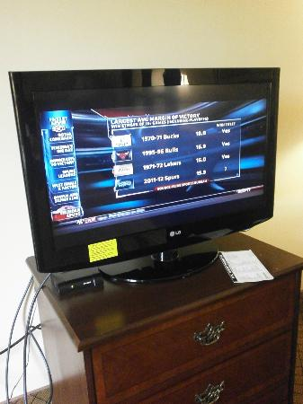 Comfort Suites: Flat Screen TV