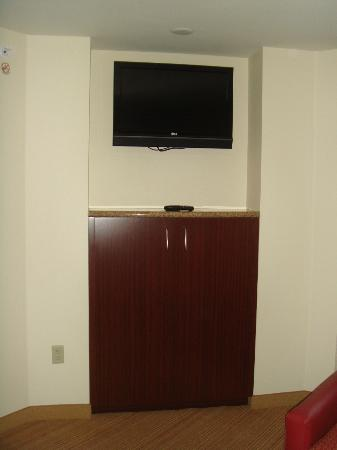 Residence Inn by Marriott Miami Airport: Television in livingroom