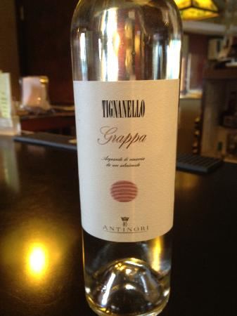 Bell Channel Inn: Tig Grappa, yeah !!!