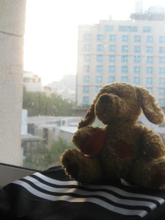 Sea Net Hotel: Desde la ventana de la habitación