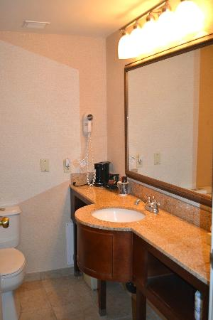 Sturbridge Host Hotel & Conference Center: Bathroom for room 311